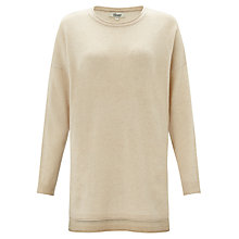 Buy Somerset by Alice Temperley Oversized Cashmere Jumper, Cream Online at johnlewis.com