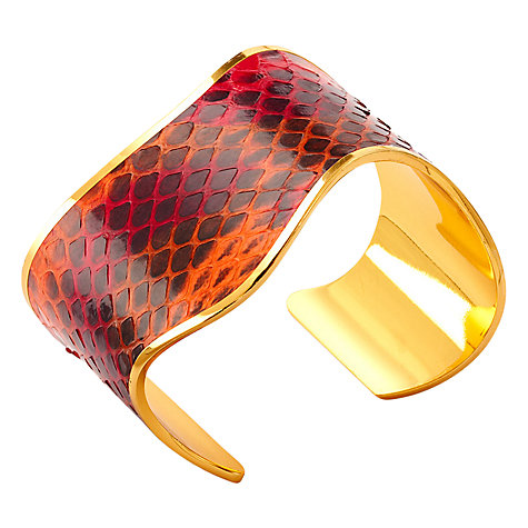 Buy Aspinal of London Aphrodite Snake Bangle Online at johnlewis.com