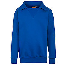 Buy St Michael's Church of England Preparatory School Unisex Tracksuit Top, Royal Blue Online at johnlewis.com