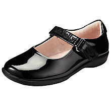 Buy Lelli Kelly Scarlet Strap Shoes, Black Patent Online at johnlewis.com
