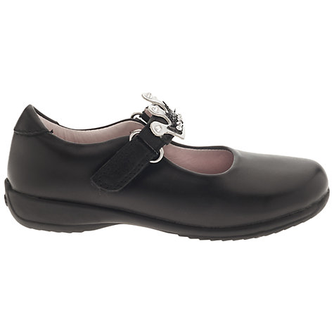 Buy Lelli Kelly Scarlet Strap Shoes, Black Online at johnlewis.com