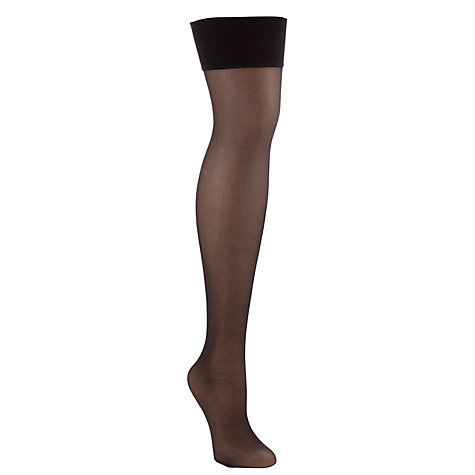 Buy Jonathan Aston Tosca Backseam Hold Ups Online at johnlewis.com