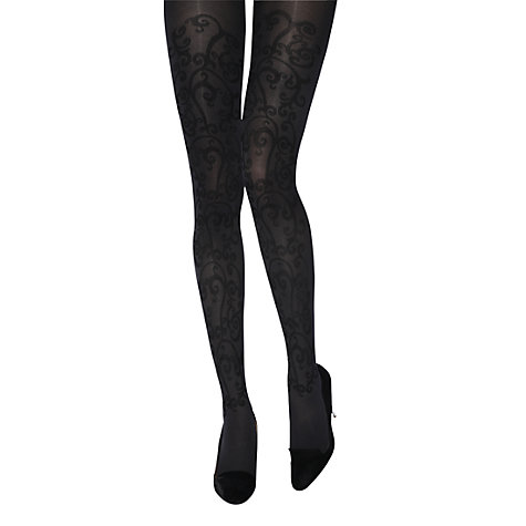 Buy Jonathan Aston Carmen Flock Tights Online at johnlewis.com