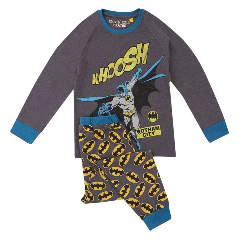 Batman Whoosh Pyjamas, Grey