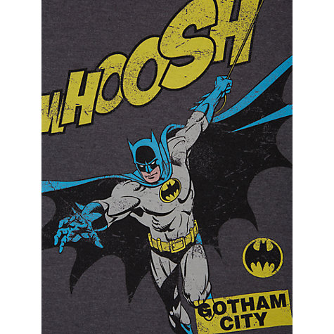 Buy Batman Whoosh Pyjamas, Grey Online at johnlewis.com