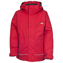 Buy Trespass Boys' Cornell Waterproof Jacket, Red Online at johnlewis.com