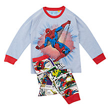 Buy Spider-Man Pyjamas, Multi Online at johnlewis.com