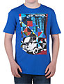 Animal Boys' Heavy Graphic T-shirt, Cobalt Blue