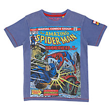 Buy Spider-Man Hammerhead T-Shirt, Blue Online at johnlewis.com