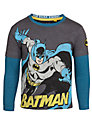Batman Long Sleeve Layer Top, Grey