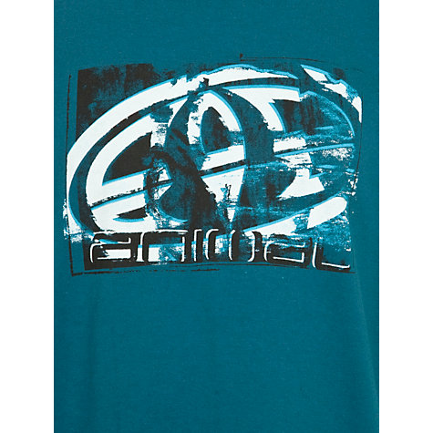 Buy Animal Boys' Hillsides T-shirt, Teal Online at johnlewis.com