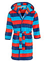 Buy John Lewis Boy Striped Robe, Blue/Red, 2 Years Online at johnlewis.com