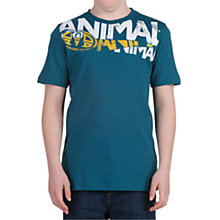 Buy Animal Boys' Harks T-Shirt, Petrol Online at johnlewis.com