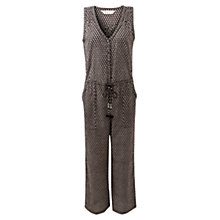 Buy East Shivani Jumpsuit, Black Online at johnlewis.com