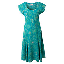 Buy East Clematis Cotton Dress, Dark Sardinia Online at johnlewis.com