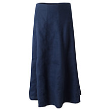 Buy East Longline Flare Linen Skirt Online at johnlewis.com