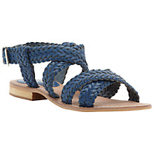 Buy Bertie Jakko Woven Leather Sandals Online at johnlewis.com