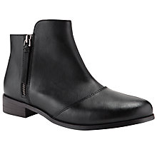 Buy Collection WEEKEND by John Lewis Louvre Ankle Boots Online at johnlewis.com