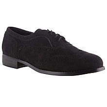 Buy Collection WEEKEND by John Lewis Basil Brogue Shoes, Black Online at johnlewis.com