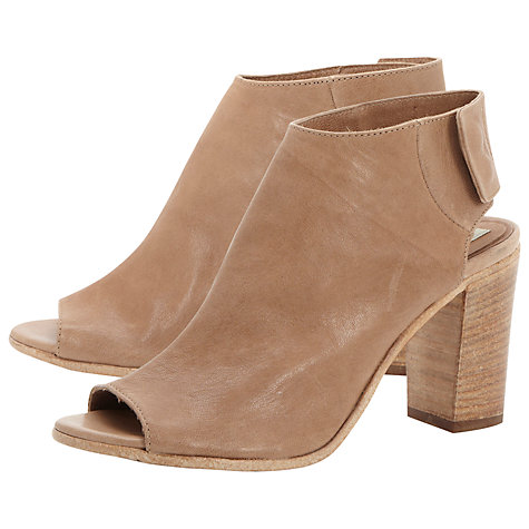 Buy Pied A Terre Lindt Stacked Heel Sandal Online at johnlewis.com
