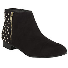 Buy Collection WEEKEND by John Lewis Itza Studded Ankle Boots, Black Online at johnlewis.com