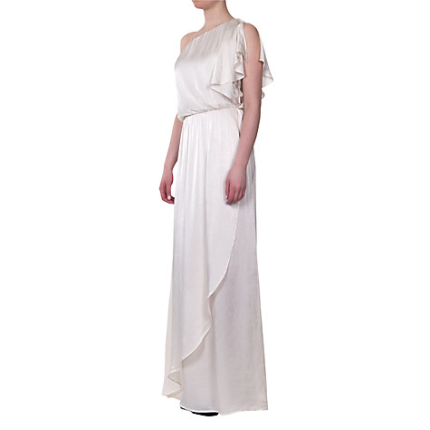 Buy Ghost Zoe One Shoulder Dress Online at johnlewis.com