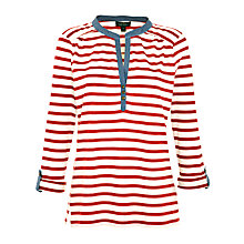 Buy Lauren by Ralph Lauren Button Neck Peasant Top Online at johnlewis.com