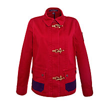 Buy Lauren by Ralph Lauren Clasp Detail Jacket, Admiral Red Online at johnlewis.com