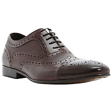 Buy Dune Amore Multi Texture Leather Brogue Shoes Online at johnlewis.com