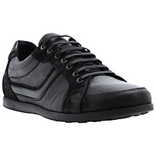 Buy Dune Tobasco Leather and Suede Trainers Online at johnlewis.com