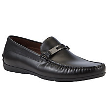 Buy Hugo Boss Mottio Leather Loafers Online at johnlewis.com