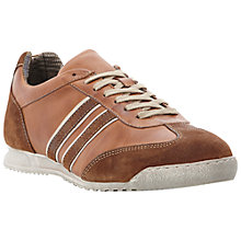 Buy Dune Tennis Suede and Leather Trainers Online at johnlewis.com