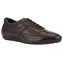 Buy Hugo Boss Promisio Leather Trainers Online at johnlewis.com