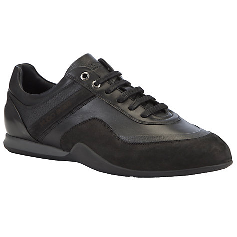 Buy Hugo Boss Gramol Leather Trainers Online at johnlewis.com
