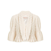 Buy John Lewis Snowy Faux Fur Capelet, Cream Online at johnlewis.com