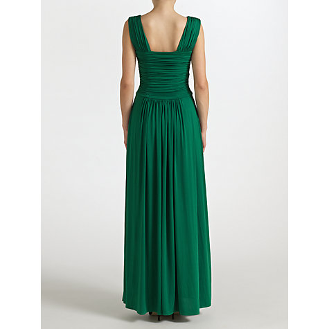 Buy John Lewis Frances Jersey Maxi Dress, Emerald Green Online at johnlewis.com