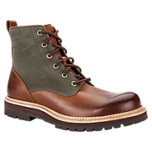 Buy UGG Huntley Canvas and Leather Lace Up Boots Online at johnlewis.com