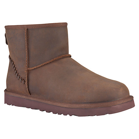 Buy UGG Classic Mini Deco Boots Online at johnlewis.com