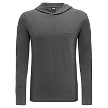 Buy Hugo Boss Inno Long Sleeve Hoody, Charcoal Online at johnlewis.com