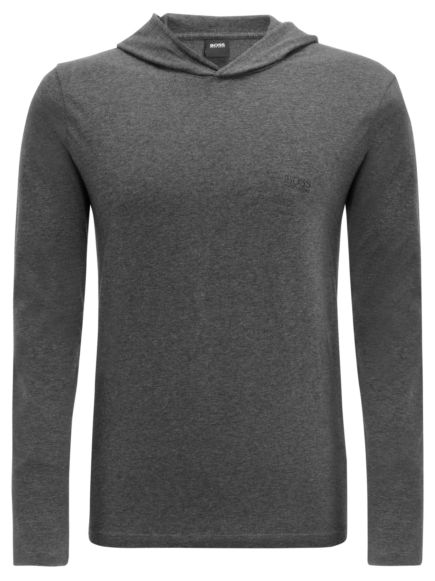 Hugo Boss Inno Long Sleeve Hoody, Charcoal