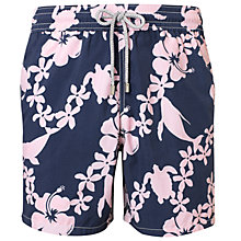 Buy Vilebrequin Moorea Turtle Dolphin Flower Print Swim Shorts Online at johnlewis.com