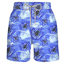 Buy Vilebrequin Moorea Floral and Stingray Print Swim Shorts Online at johnlewis.com