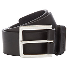 Buy Gant Heavy Leather Belt Online at johnlewis.com