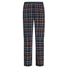 Buy Hugo Boss Inno Lounge Pants, Orange/Blue Online at johnlewis.com