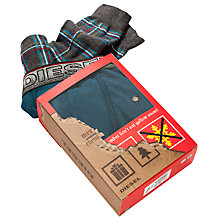 Buy Diesel Christmas Trunks and Socks Gift Set, Pack of 2 Online at johnlewis.com
