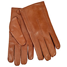 Buy John Lewis Leather Cashmere Lined Gloves Online at johnlewis.com