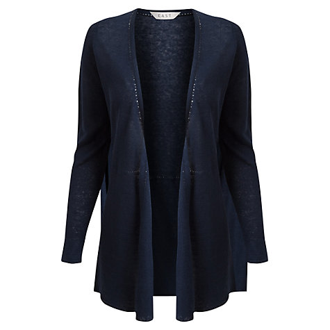Buy East Linen Swing Cardigan Online at johnlewis.com