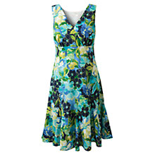 Buy East Alanis Fit and Flare Dress, Royal Blue Online at johnlewis.com