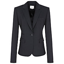 Buy Reiss Slim Fit One Button Jacket, Navy Online at johnlewis.com