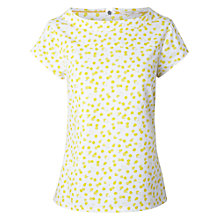 Buy White Stuff Square Mile Top, Mustard Online at johnlewis.com